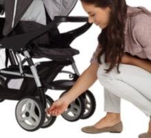 double stroller for infant and toddler