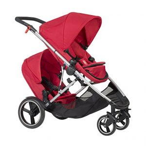 stroller with doubles kit