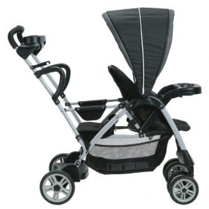 Stand and Ride Stroller